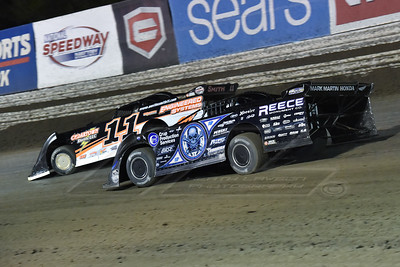 Scott Bloomquist (0) and Austin Smith (11)