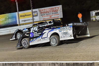 Jared Landers (777) and Darrell Lanigan (15)