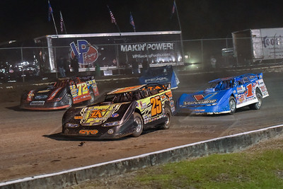 Shane Clanton (25), Mike Norris (72), Josh Richards (1) and Don O'Neal (5)