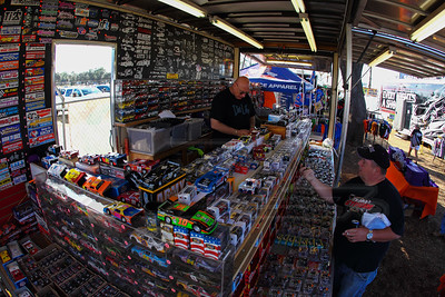Diecast trailer in the fan midway