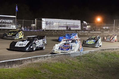 Chub Frank (1*), Kenny Pettyjohn (38), Donny Schatz (15), Brian Shirley (3S), Josh Richards (1), and Mike Norris (72)