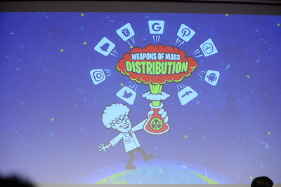 Weapons of Mass Distribution 2016 #LeanStartup @500Startups
