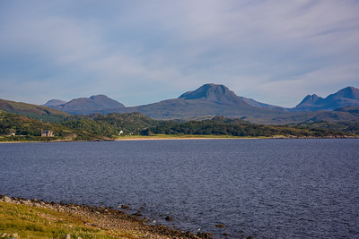 Wester Ross Holiday: Views from the house