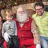 Meg, Bruno, Santa, Rocco Bonello