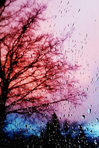 Rainy Sunset....