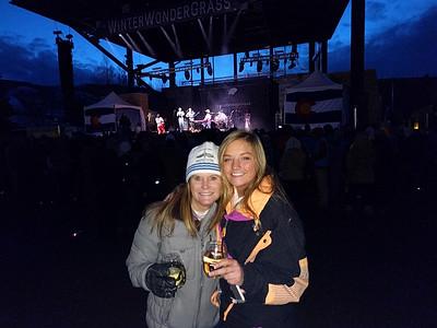 Kiki and Kacee at the Nahko concert