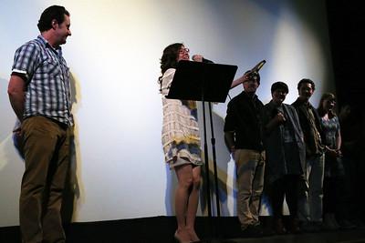"Kara Mulrooney won a Golden Badger Award for ""jazzy@32"""