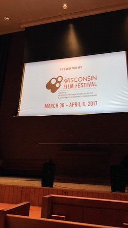 In case you need a reminder.. the 2017 Wisconsin Film Festival takes place March 30 - April 6.