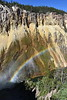 Rainbow in Grand Canyon of Yellowstone