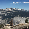 Amazing mountain peaks in Yosemite high country