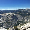 Pano from the top of Clouds Rest!