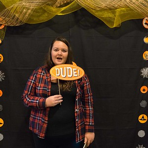 Youth Photo Booth Halloween Party