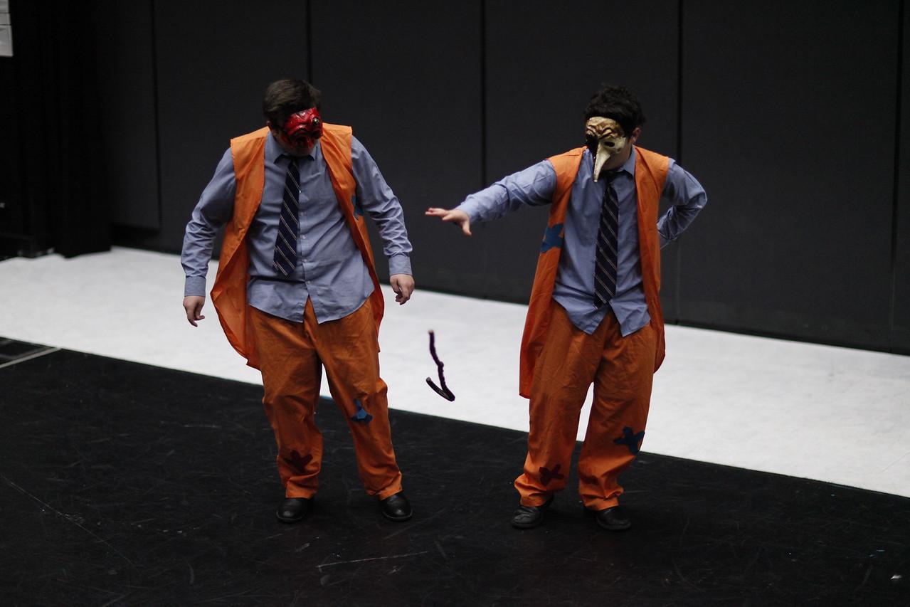 Yr 11 Theatre Studies Class