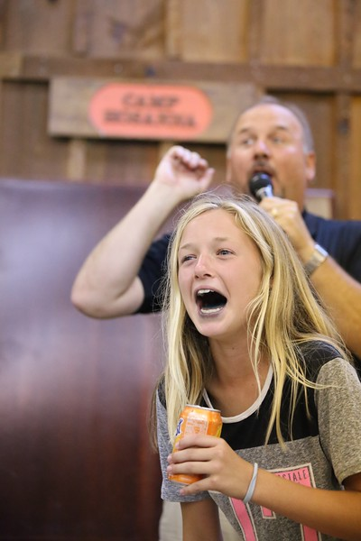 Burping Contest on Wednesday Night