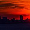 Sunset over Boston 4 Aug, 2016.