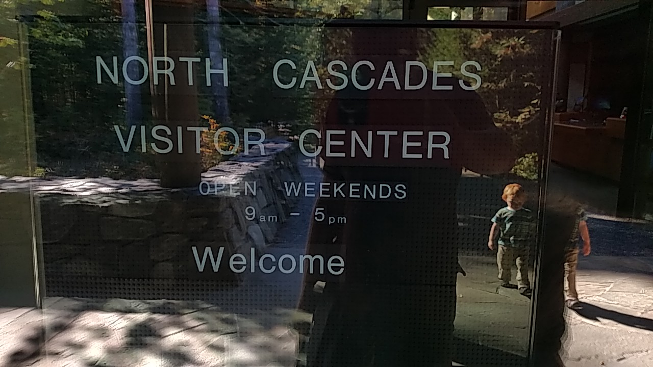 I'd like to say we saw more of North Cascades, NP,  but it's only open on the weekends?