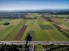 Autobahn A1 und Ackerfelder im Gäu © Patrick Lüthy/IMAGOpress.com