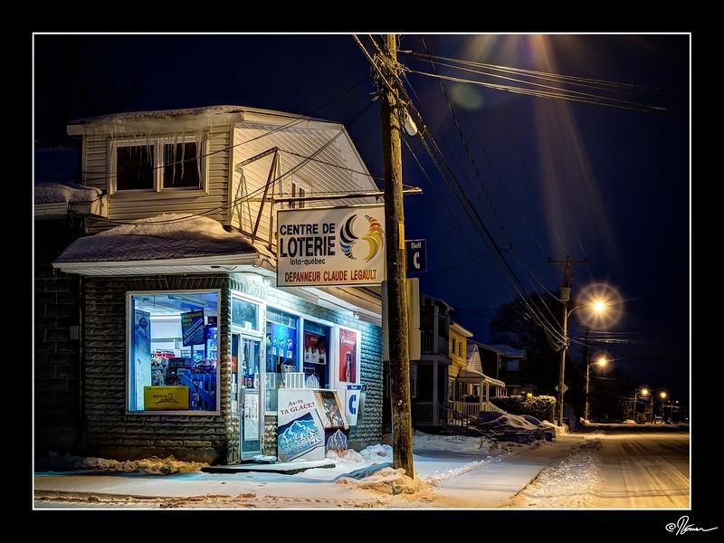 Paysage d'hiver (urbain) Mois de janvier 2016 1/12