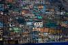 Peru : Vista parcial de las precarias viviendas en el Cerro San Cristóbal / Cerro San Cristobal Slum in Lima / Peru : Armensiedlung San Cristobal in Lima © Augusto Famulari/LATINPHOTO.org