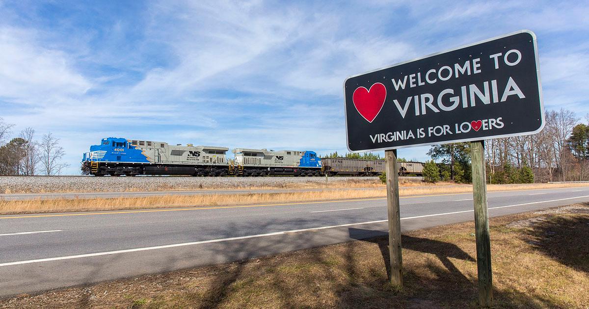 VA/NC Stateline near Price,NC
