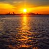Sunset over Boston 4 August, 2016.