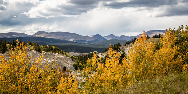 FALL COLORS AT FAIRPLAY COLORADO