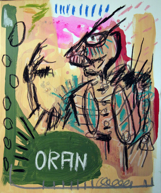 227 - Oran(ge) - 60x50cm