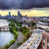 Boston from Boston University 3 August, 2016.