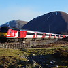 43251+43316 south of Dalwhinnie working the 12:00 London Kings Cross - Inverness 20/04/16