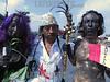 MEXICO : PERUANOS EN MÉXICO PROTESTAN CONTRA EL TERCER DERRAME DE PETROLEO CRUDO OCRRIDO EN LA AMAZONÍA PERUANA, LIDERADO POR EL ACTOR RICHARD TORRES - PERUANOS EN MÉXICO PROTESTAN CONTRA EL TERCER DERRAME DE PETROLEO CRUDO OCURRIDO EN LA AMAZONÍA PERUANA, LIDERADO POR EL ACTOR RICHARD TORRES / Mexiko : Protest - Kundgebung gegen die Erschliessung von Oelfelder in Peru  in Mexiko Stadt © Richard Torres Limay/LATINPHOTO.org