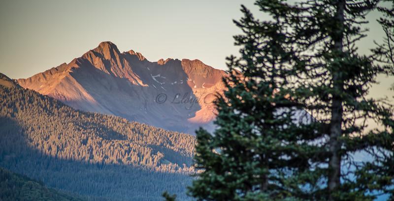 Dolores Peak Waning