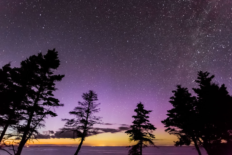 TWILIGHT AND THE LIGHTS OF PRINCE EDWARD ISLAND