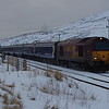 67007 arrives in Schold Loop working the 21:15 London Euston - Inverness 25/02/16