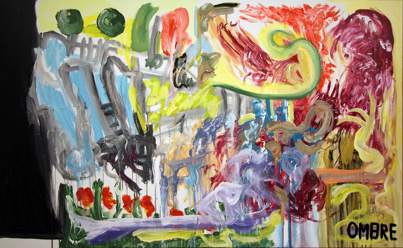 200 - Ombre gardens - 150x100cm