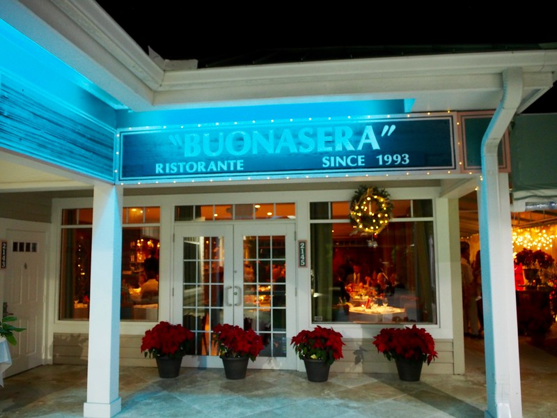 One of the best meals I've ever had; Buonasera Ristorante in Juno Beach, FL.