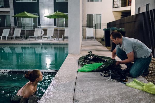 Pool Packrafting