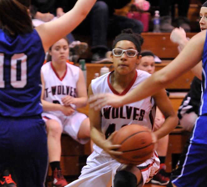 Indian Creek girls basketball vs Newark 2
