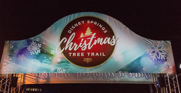 2017-12-01 Disney Christmas Tree Trail