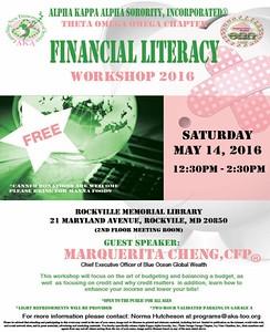 2016-05-14 Financial Literacy Workshop