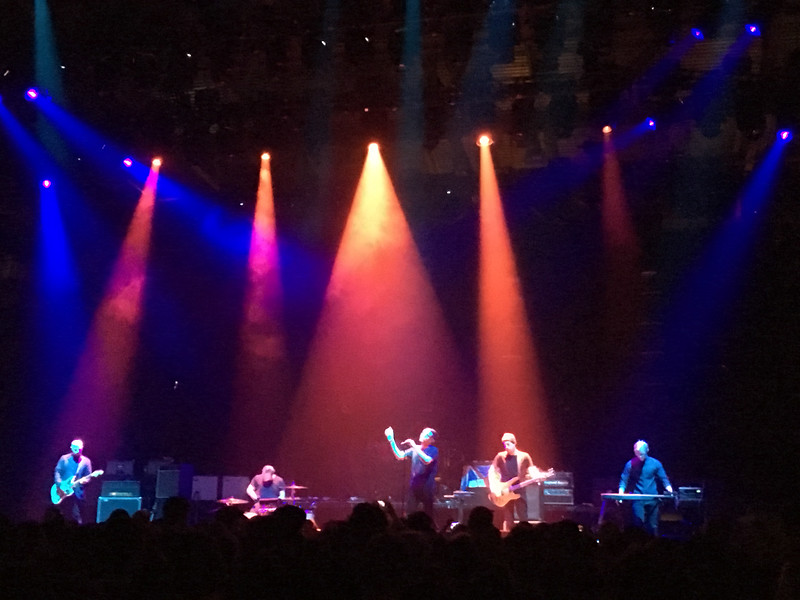 Rocking out to Twilight Sad at UIC Pavillion in Chicago.