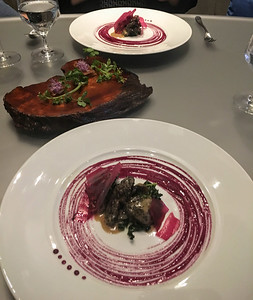 A fun dinner at Alinea in Chicago, shortly after their 2016 re-opening.
