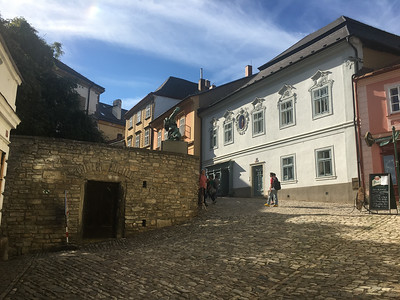 Walking around Kutna Hora, Czech Republic.