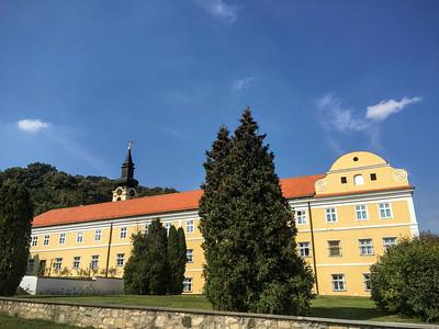 The Staro Hopovo Monastery in Fruska Gora, Serbia.