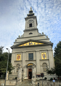 St Michaels Cathedral in Belgrade, Serbia