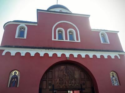 Krusedol Monastery in Fruska Gora, Serbia.