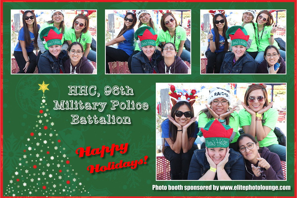 2016.12.03 HHC 96th MP BN Holiday Event Photo Booth