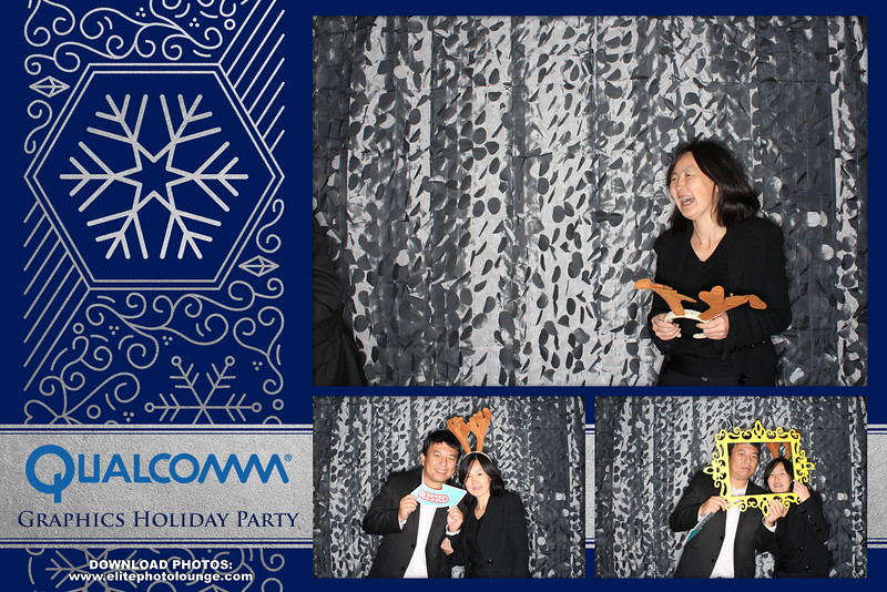 """Qualcomm Graphics Holiday Party 2016 Photo booth by <a href=""""http://www.elitephotolounge.com"""">http://www.elitephotolounge.com</a>"""