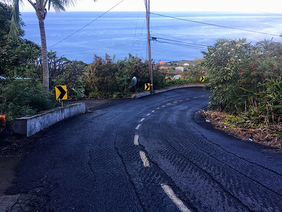 Morning run in Kona Kai Paradise, Hawaii