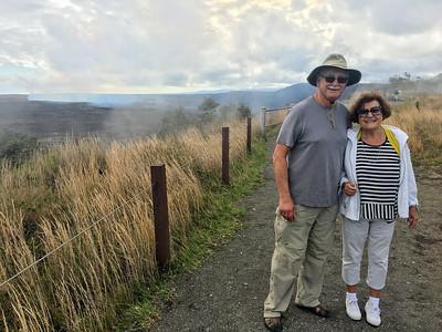 Kilauea crater in Hawaii Volcanoes National Park.