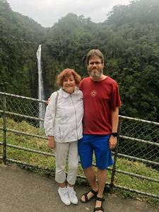 Akaka Falls in Akaka Falls State Park, Hawaii.